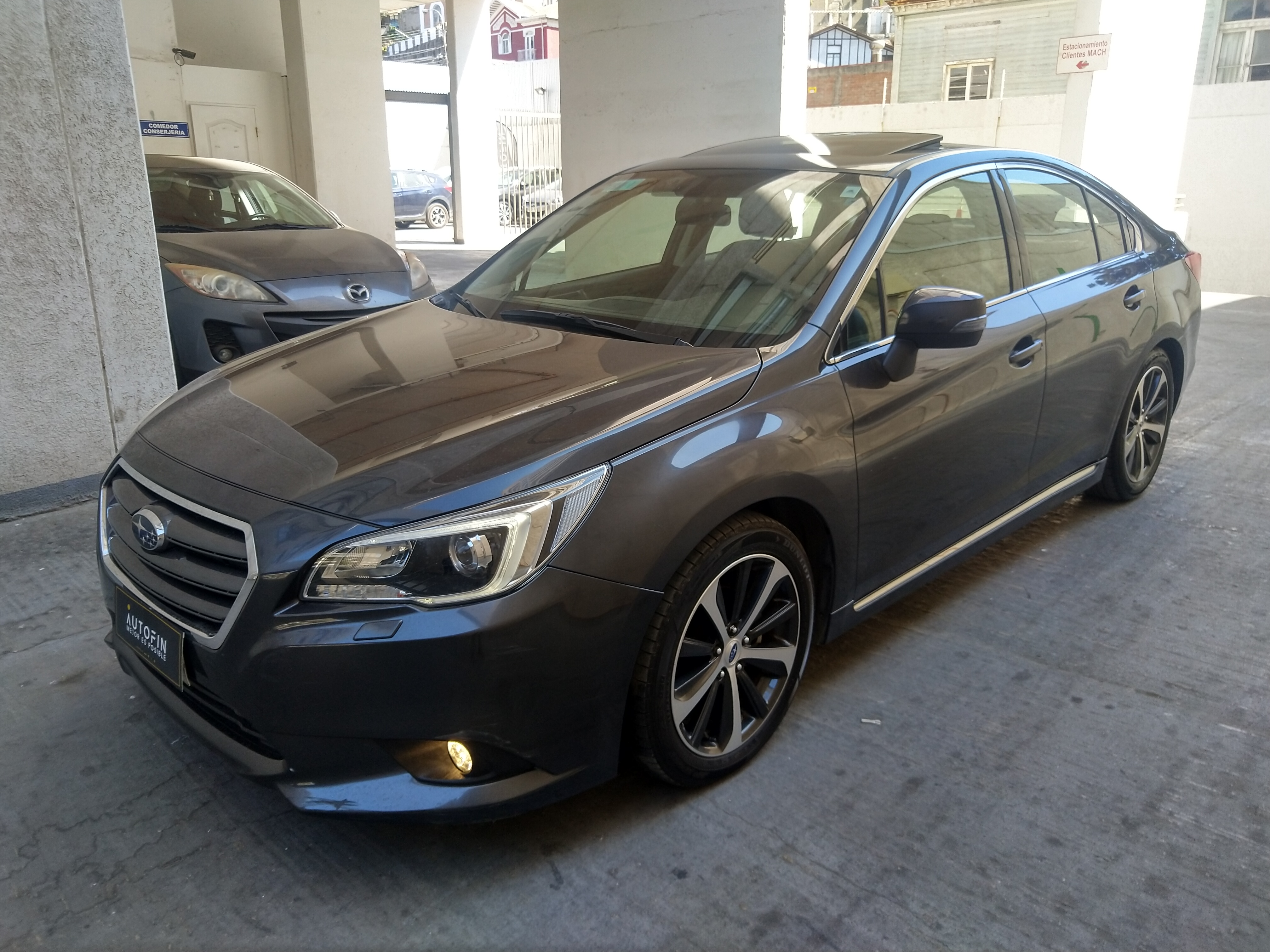 ALL NEW LEGACY 2.5I AWD CVT LIMITED